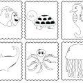 Sea Animal Worksheets