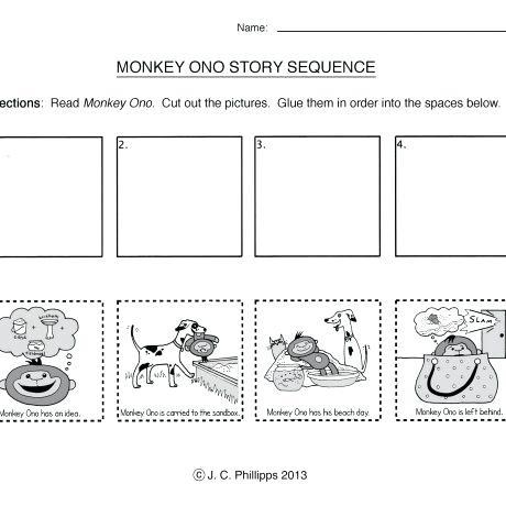 Sequencing Worksheets For Kindergarten Scientific Notation