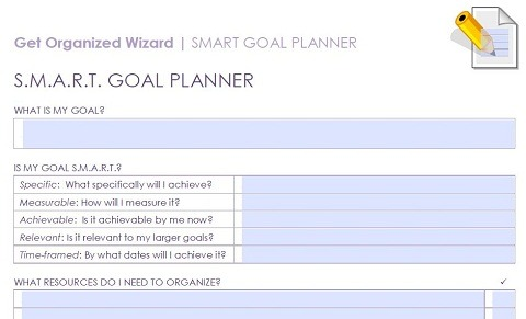 Tips, Templates, And Worksheets For Setting Smart Goals