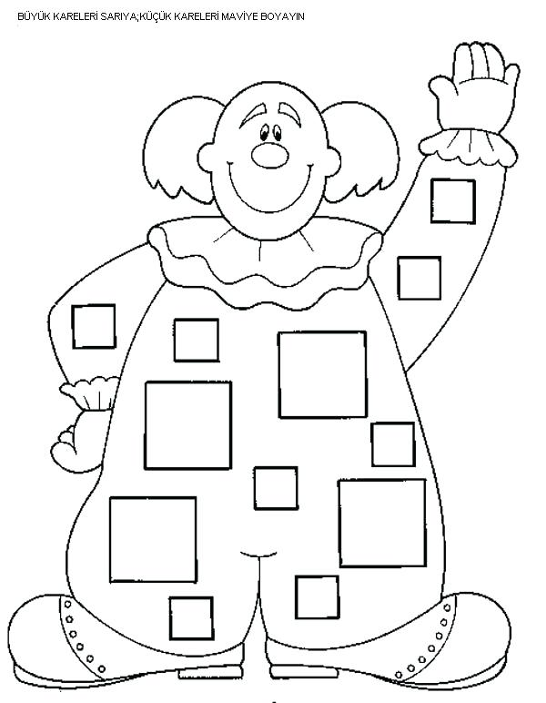 Shapes Worksheets Color Trace Connect Draw This Square Free For
