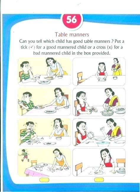 Table Manners Lesson Plan Preschool – Cossatotcommunitycollege Com
