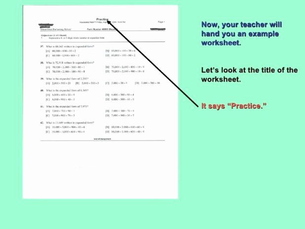 Example 5th Grade Accelerated Math Worksheets – Aggelies