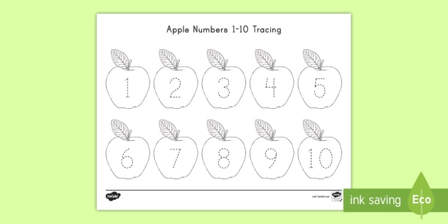 Apple Numbers 1