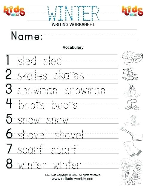Winter Worksheets Winter Coloring Worksheets Coloring Pages For