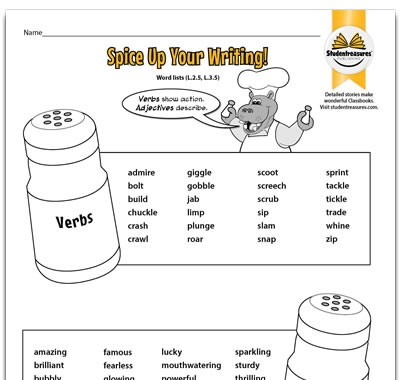 Free 2nd Grade Writing Activities