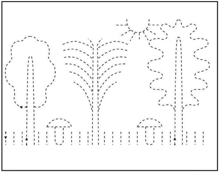 Printing Practice For Kindergarten