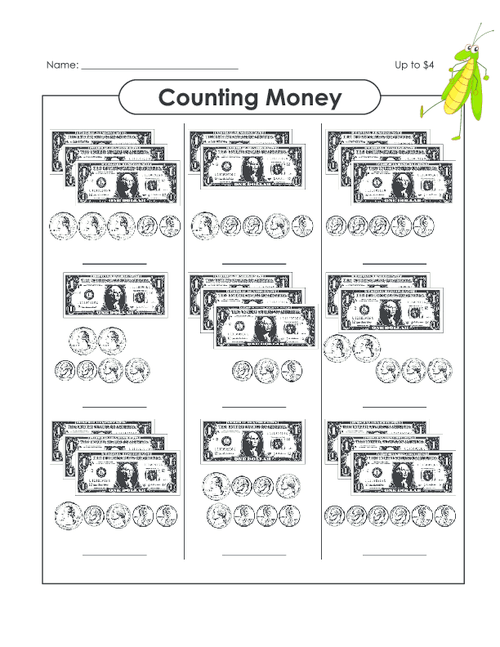 Counting Money (up To $14)