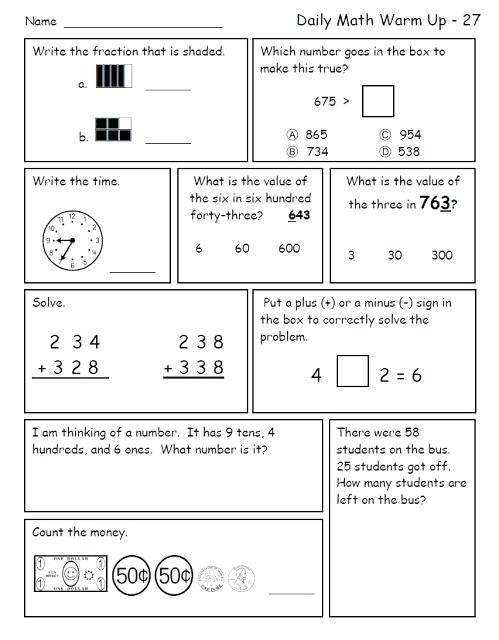 1st Grade Common Core Math Worksheets Grade Common Core Math