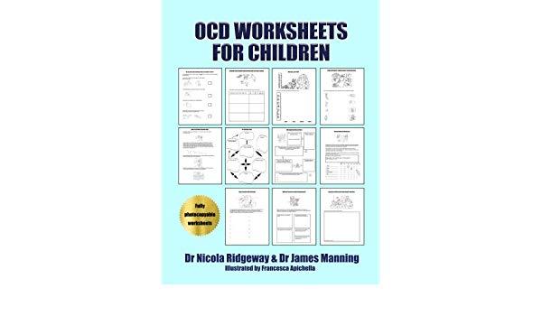 Ocd Worksheets For Children  A Cbt Worksheets Book For Cbt