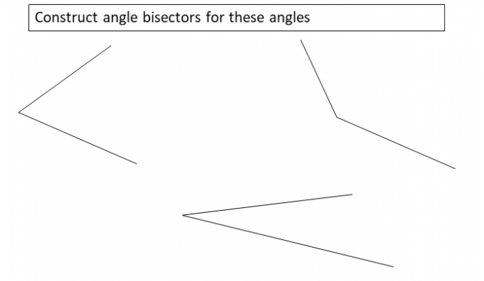 Simple Construction Worksheet For Drawing And Measuring Line