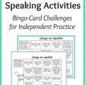 Speaking Worksheets For Kids
