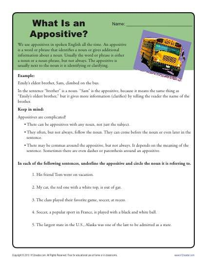 What Is An Appositive