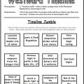 Chronological Order Worksheets For 6th Grade