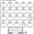 Math Worksheets For Kindergarten Numbers