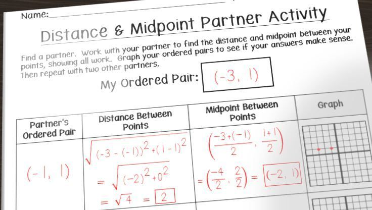 Having Fun With Distance And Midpoint
