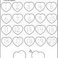 Heart Worksheets For Preschool