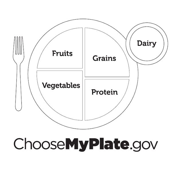 Myplate Lesson Plan  Teaching About Healthy Food Choices