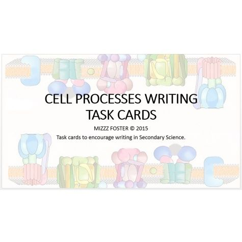 These Task Cards Are Specific To Secondary Science And They Cover