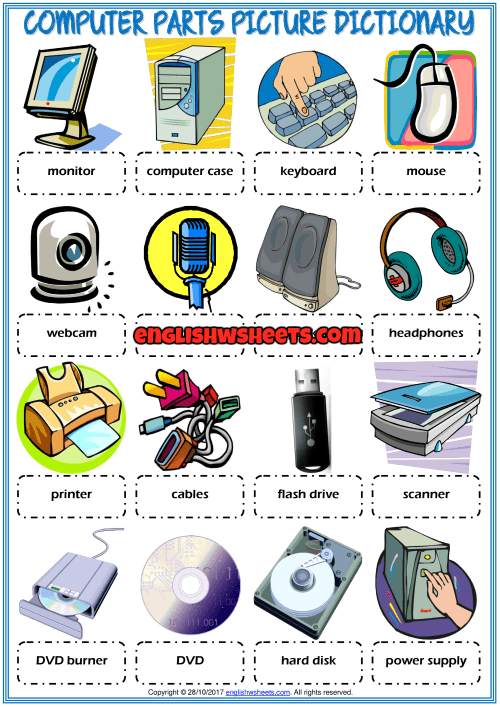 Parts Of Computer For Kids Png & Free Parts Of Computer For Kids