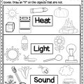 Types Of Energy Worksheets For Kids