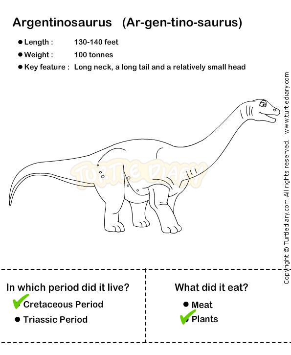 Dinosaur Worksheet3