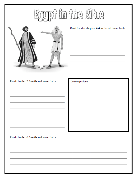 Here Is A Freebie, Ancient Egypt Worksheet Set! For Grades 2nd