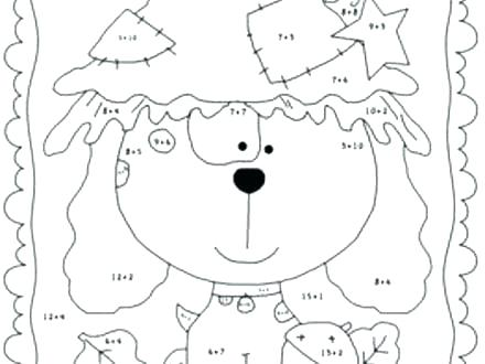 Free Math Coloring Worksheets Free Math Ng Worksheets Grade Pages