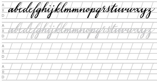Free Printable Calligraphy Worksheets (61+ Images In Collection