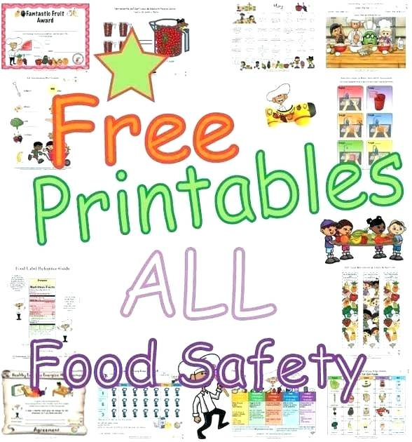 Free Printable Cooking Worksheets Food Pyramid Worksheets