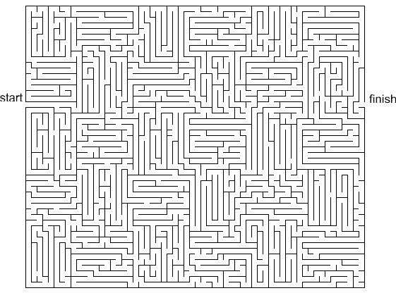 28 Free Printable Mazes For Kids And Adults