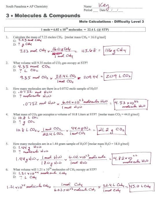 Worksheet Mole Mass Problems Nice Volume Of A Cylinder Worksheet