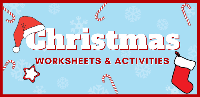 15+ Free Printable Christmas Worksheets And Activities