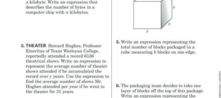 Glencoe Algebra 1 Chapter 2 Answers Best Of Business Math
