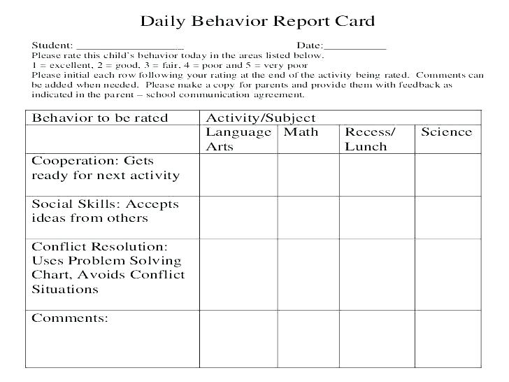 Good Behavior Worksheets Charts Learning Printable Free