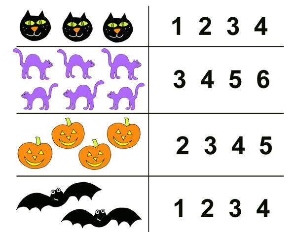 Halloween Worksheet – National Kindergarten Readiness