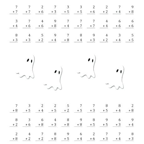 Halloween Math Worksheets Middle School – Investoption Club