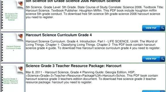 Harcourt Science Grade 3 Worksheets Harcourt Science Grade 3