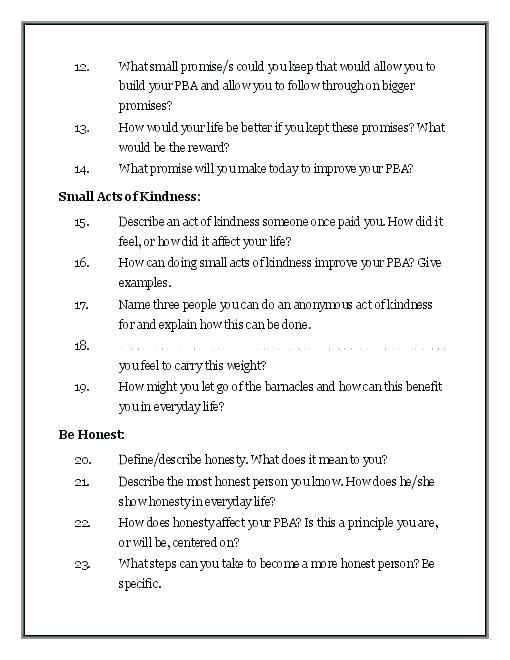 Good Health Habits Worksheets