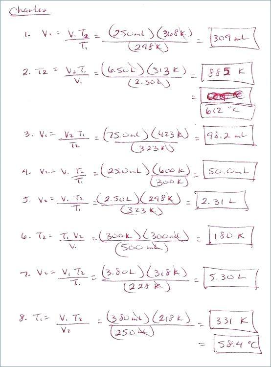 Ideal Gas Worksheet Kids Ideal Gas Law Worksheet Gas Variables