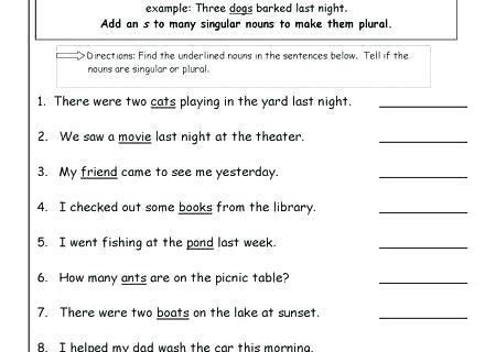 Irregular Plurals Worksheets Irregular Plural Nouns Worksheet The