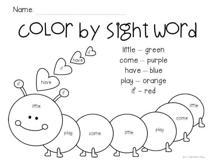 Sight Word Sentences Kindergarten Free    Dragonsfootball17
