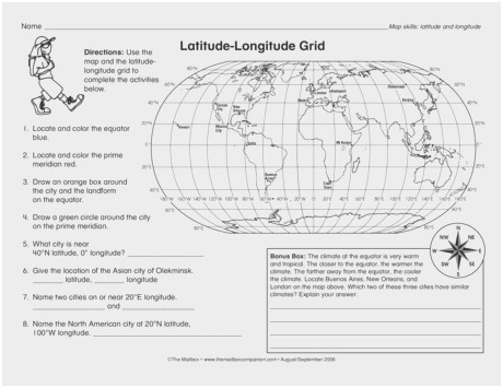 Latitude Longitude Printable Worksheets (57+ Images In Collection