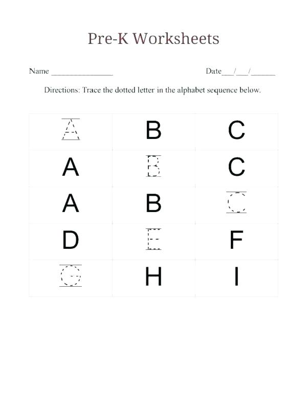 Matching Worksheets Preschool See Letters Colour For Preschoolers