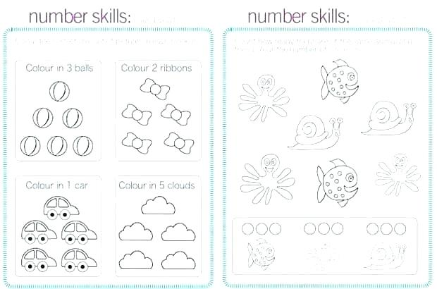 Math Number Sense Worksheets And Numeration Grade 2 Kindergarten