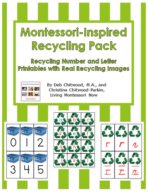 Free Recycling Printables And Montessori