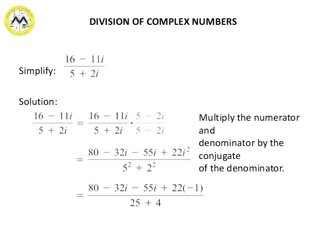 Multiplying Complex Numbers Worksheet – So