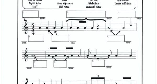 Music Theory Worksheets Free Printable Music Theory Worksheets For