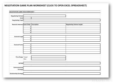 Download Your Free Negotiation Prep Guide & Worksheet