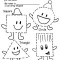 Drawing Worksheets For Nursery Kids