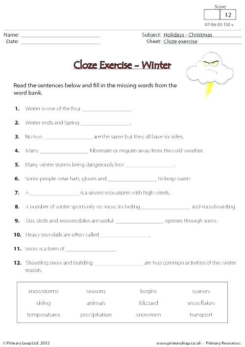 Printable Worksheets Middle School – Autohersteller Info